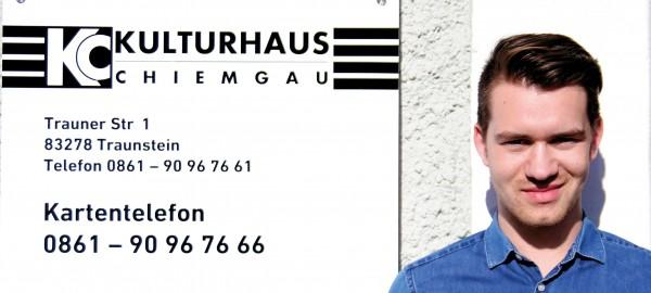Ralf Enzensberger vom Kulturhaus Chiemgau  im Interview