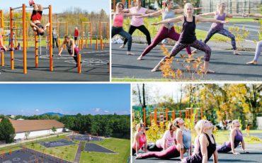 Sportpark Freilassing:  Größte Outdoor Trainingsanlage Europas