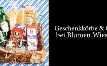 Geschenkkörbe & Co. bei Blumen Wieser