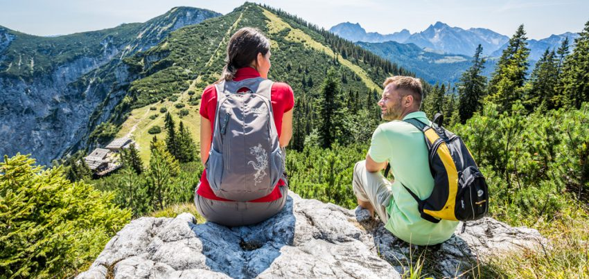 Start in den Wanderherbst auf dem Predigtstuhl